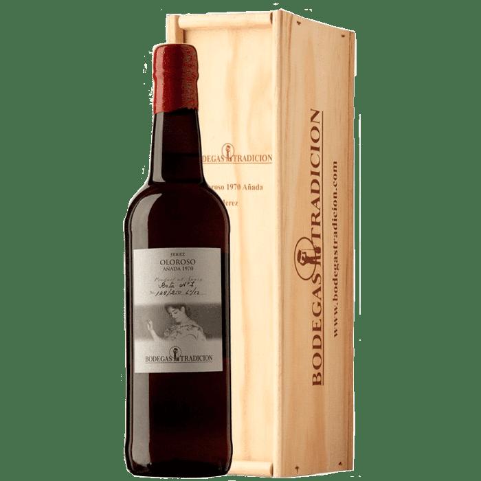 Sherry Oloroso Anada 1970 (sherry secco) astucciato - Bodegas Tradicion