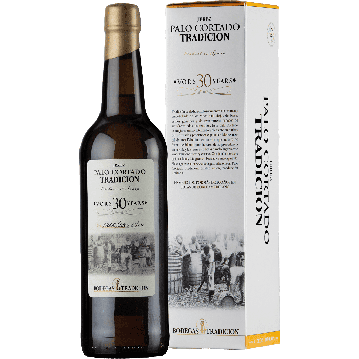 Sherry Palo Cortado VORS 30 anni (sherry secco) astucciato - Bodegas Tradicion