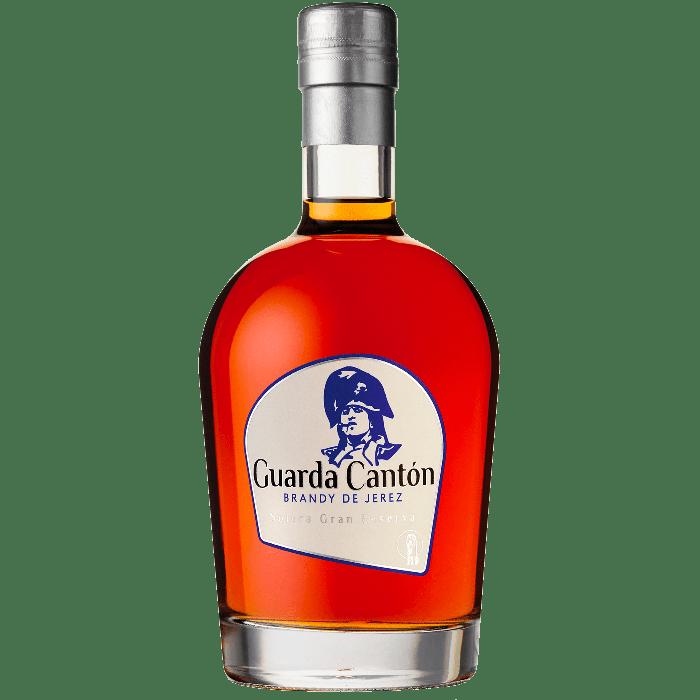 """""""Guarda Canton"""" Brandy de Jerez con astuccio - Bodegas Tradicion"""