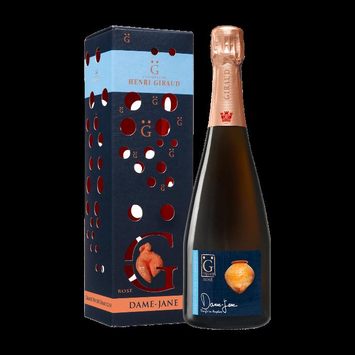 "Champagne Rosé ""Dame Jane"" Magnum con astuccio - Henri Giraud"
