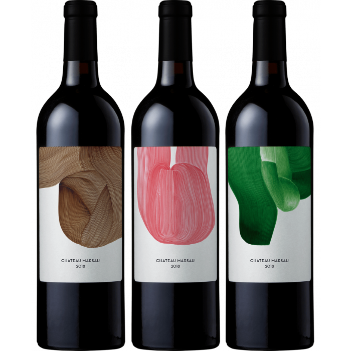 Chateau Marsau 2018 - confezione da 3 bottiglie