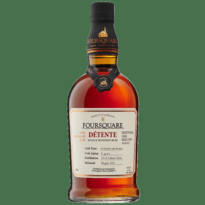 Detente Barbados Rum  - Foursquare Distillery