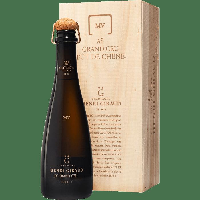 """Champagne Ay Grand Cru """"Fut de Chene"""" mezza bottiglia con Gift Box- Henri Giraud"""