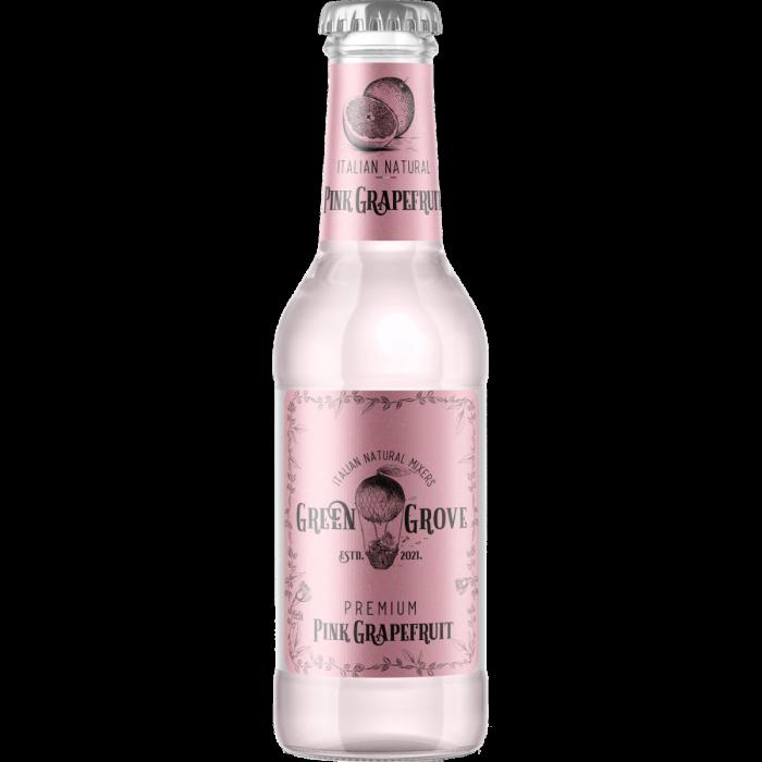 Premium Italian Pink Grapefruit Soda