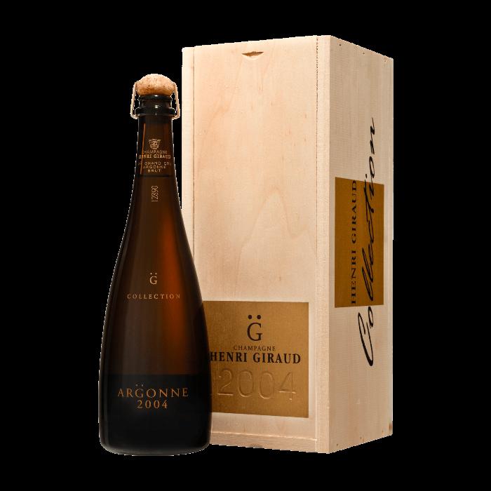 """Champagne Ay Grand Cru """"Argonne"""" 2004  Collection con astuccio - Henri Giraud"""