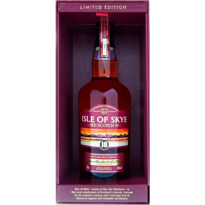 Isle of Skye 18 anni Blended Scotch Whisky con astuccio - Ian Macleod