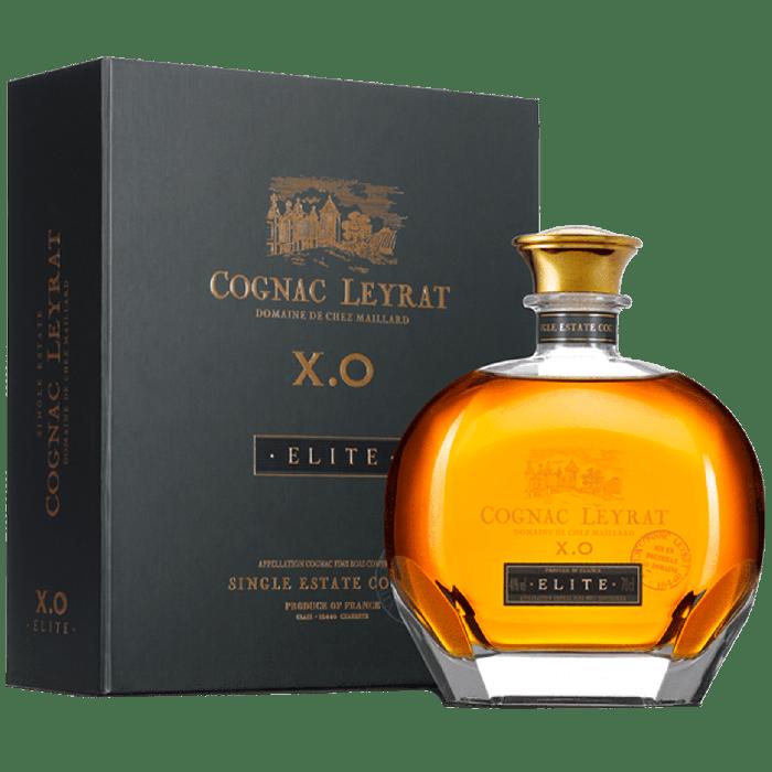 """""""X.O. Elite"""" Single Estate Cognac con astuccio - Leyrat"""