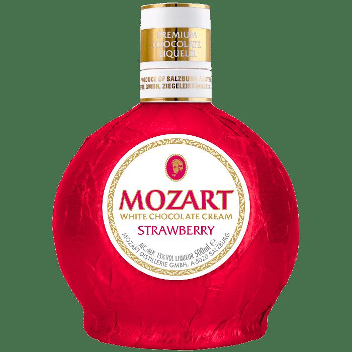 """""""Strawberry & White Chocolate"""" Liquore di fragole e cioccolato bianco - Mozart Distillery"""