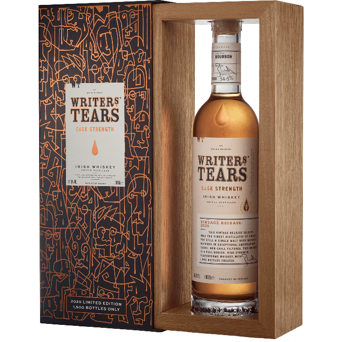 Cask Strenght Irish Whiskey 2020 release con astuccio - Writer's Tears