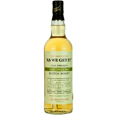 As We Get It Islay Single Malt Scotch Whisky - Ian Macleod