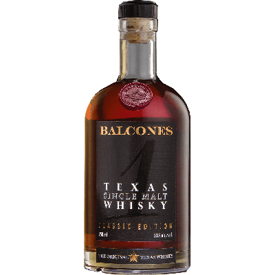 """N°1"" Texas Single Malt Whisky - Balcones Distilling Co"