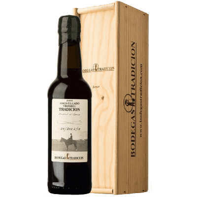 Sherry Amontillado Viejissimo 80+ anni (sherry secco) astucciato - Bodegas Tradicion