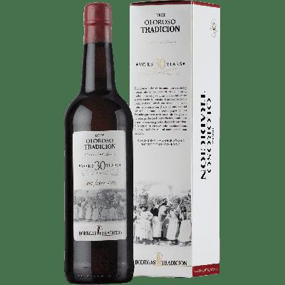 Sherry Oloroso VORS 30 anni (sherry secco) astucciato - Bodegas Tradicion