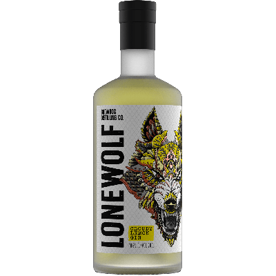 "Lonewolf ""Cloudy lemon"" Gin - Brewdog Distilling Co."