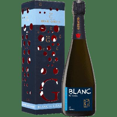 "Champagne Blanc de Blanc ""Blanc de Craie"" con astuccio - Henri Giraud"