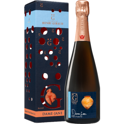 """Champagne Rosé """"Dame Jane"""" con astuccio - Henri Giraud"""
