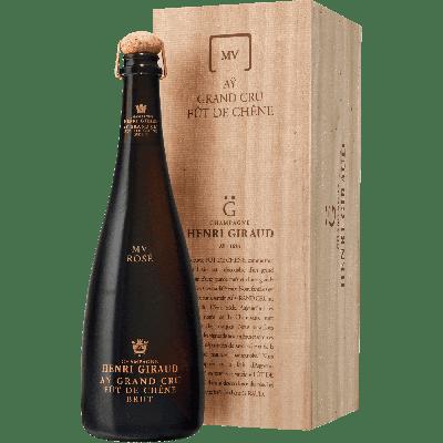 """Champagne Ay Grand Cru """"Fut de Chene"""" Rosé con astuccio - Henri Giraud"""