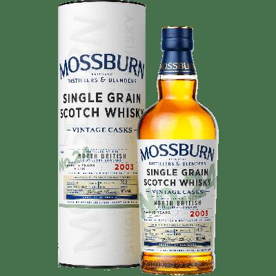 No.24 North British Single Grain 2003 - Mossburn Whisky