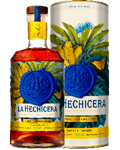 "Rum Serie Experimental n°2 ""Banana Infused Rum con astuccio - La Hechicera"