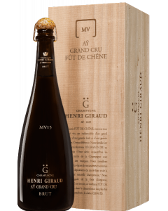 """Champagne Ay Grand Cru """"Fut de Chene"""" MV 15 con astuccio- Henri Giraud"""